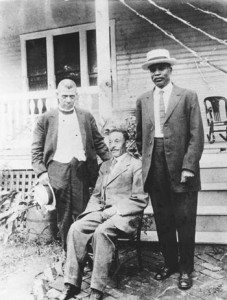 Booker T. Washington, Byrd Prillerman and Kelly Miller