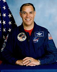 The first African-American to pilot a spacecraft.