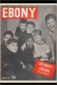 The first issue of Ebony magazine, Nov. 1, 1945.
