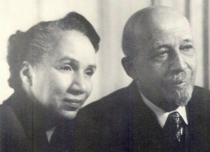 Shirley Graham DuBois and  her Husband, W.E.B. DuBois