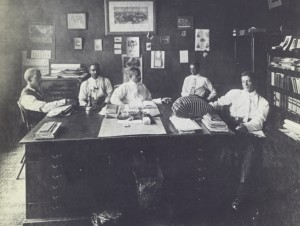 Officers of the North Carolina Mutual Life Insurance Company in 1911