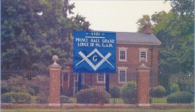 The First black Masonic Lodge