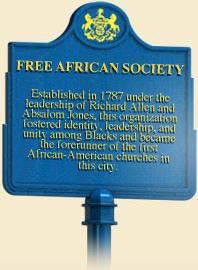 Philadelphia's Free Africa Society